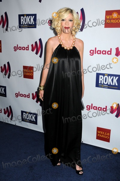 Tori Spelling Photo - 10 April 2011 - Los Angeles, California - Tori Spelling. 22nd Annual GLAAD Media Awards held at the Westin Bonaventure Hotel. Photo: Byron Purvis/AdMedia