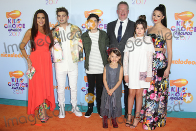 The Cast Photo - 11 March 2017 -  Los Angeles, California - The cast of 'The Thundermans'. Nickelodeon's Kids' Choice Awards 2017 held at USC Galen Center. Photo Credit: Faye Sadou/AdMedia