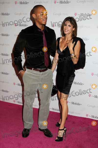 Elisabetta Canalis, Mehcad Brooks, Mr Brainwash, Mr. Brainwash Photo - 16 November 2011 - Hollywood, California - Mehcad Brooks and Elisabetta Canalis. T-Mobile Launch Party For Google Music held at Mr. Brainwash Studio. Photo Credit: Byron Purvis/AdMedia