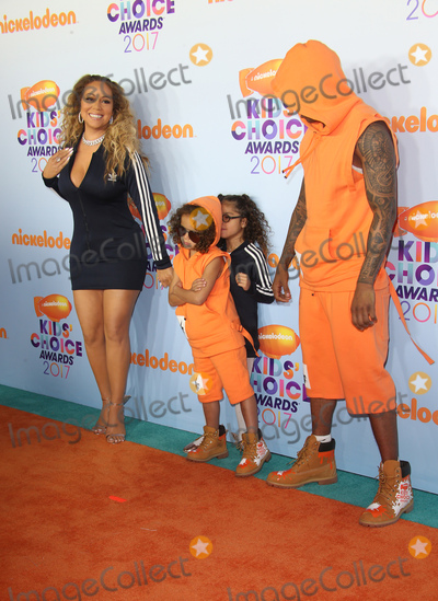 Photo - 11 March 2017 -  Los Angeles, California - Mariah Carey, Moroccan Scott Cannon, Nick Cannon, Monroe Cannon