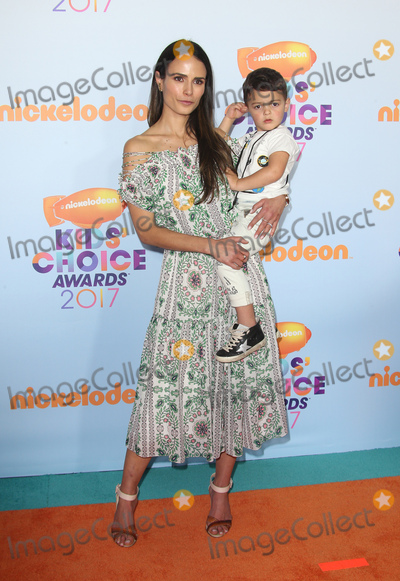 Jordana Brewster Photo - 11 March 2017 -  Los Angeles, California - Jordana Brewster, Julian Form-Brewster. Nickelodeon's Kids' Choice Awards 2017 held at USC Galen Center. Photo Credit: Faye Sadou/AdMedia
