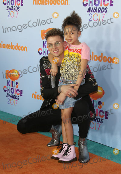 Photo - 11 March 2017 -  Los Angeles, California - Machine Gun Kelly, Casie Colson Baker. Nickelodeon's Kids' Choice Awards 2017 held at USC Galen Center. Photo Credit: Faye Sadou/AdMedia