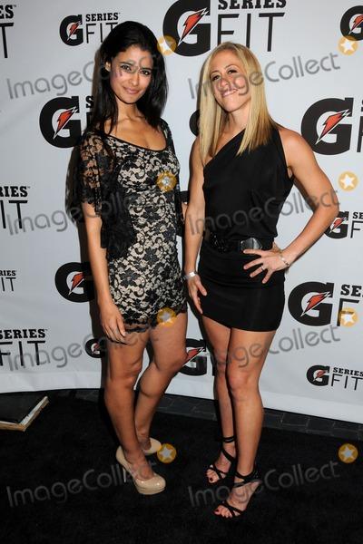 Jessica Clark, Jessica Clarke Photo - 12 April 2011 - Los Angeles, California - Jessica Clark and Lacey Stone. Gatorade G Series Fit Launch Event held at the SLS Hotel. Photo: Byron Purvis/AdMedia