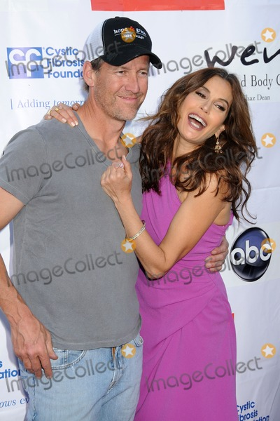 "Teri Hatcher, James Denton, DESPERATE HOUSEWIVES Photo - 21 April 2012 - Universal City, California - James Denton, Teri Hatcher. ""Desperate Housewives"" Wisteria Lane Block Party held at Universal Studios Backlot. Photo Credit: Byron Purvis/AdMedia"