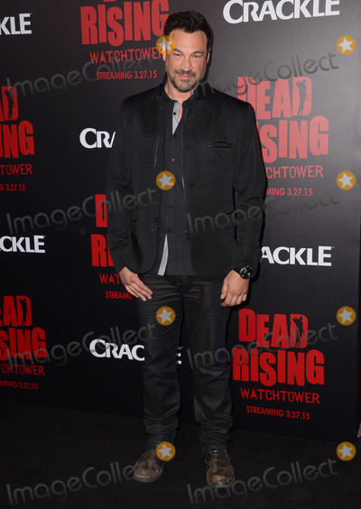 "Aleks Paunovic, Kim Novak Photo - 11 March 2015 - Los Angeles, California - Aleks Paunovic.  Arrivals for Crackle's world premiere original feature film ""Dead Rising: Watchtower"" held at the Kim Novak Theater at Sony Pictures Studios. Photo Credit: Birdie Thompson/AdMedia"