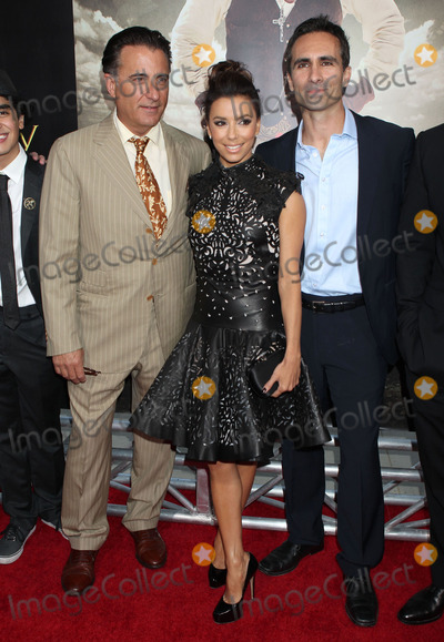 "Andy Garcia, Eva Longoria, Samuel Goldwyn, Nestor Carbonell Photo - 31 May 2012 - Beverly Hills, California - Andy Garcia, Eva Longoria, Nestor Carbonell. ""For Greater Glory"" Los Angeles Premiere held at the AMPAS Samuel Goldwyn Theater. Photo Credit: Russ Elliot/AdMedia"