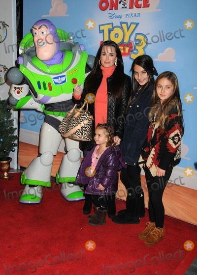 Kyle Richards Photo - 14 December 2011 - Los Angeles, California - Kyle Richards. DisneyPixar's Toy Story 3 Disney On Ice held at Nokia Plaza L.A. Live. Photo Credit: Byron Purvis/AdMedia