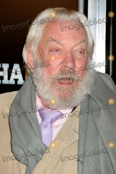 "Donald Sutherland Photo - 25 January 2011 - Hollywood, California - Donald Sutherland. ""The Mechanic"" Los Angeles Premiere held at Arclight Cinemas. Photo: Byron Purvis/AdMedia"