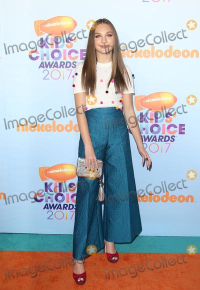 Maddie Ziegler Photo - 11 March 2017 -  Los Angeles, California - Maddie Ziegler. Nickelodeon's Kids' Choice Awards 2017 held at USC Galen Center. Photo Credit: Faye Sadou/AdMedia