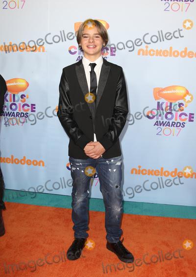 Mace Coronel Photo - 11 March 2017 -  Los Angeles, California - Mace Coronel. Nickelodeon's Kids' Choice Awards 2017 held at USC Galen Center. Photo Credit: Faye Sadou/AdMedia