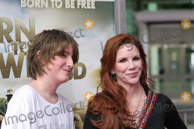 "Melissa Gilbert Photo - 03 April 2011 - Los Angeles, California - Melissa Gilbert, Michael. ""Born To Be Wild"" Los Angeles Premiere held at The California Science Center. Photo: Tommaso Boddi/AdMedia"