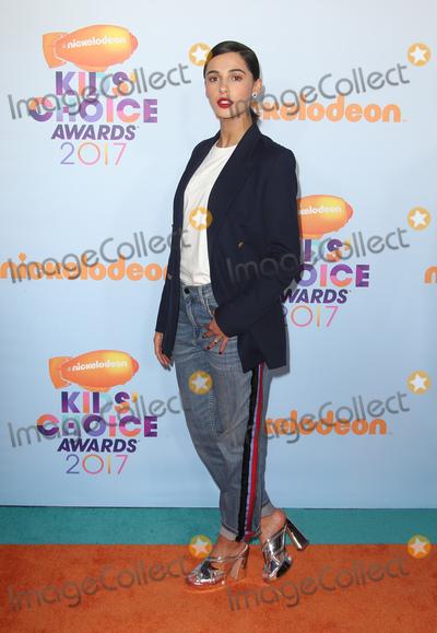 Naomi Scott Photo - 11 March 2017 -  Los Angeles, California - Naomi Scott. Nickelodeon's Kids' Choice Awards 2017 held at USC Galen Center. Photo Credit: Faye Sadou/AdMedia