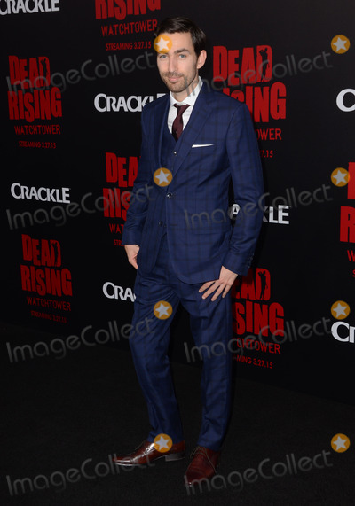 "Zach Lipvsky, Kim Novak Photo - 11 March 2015 - Los Angeles, California - Zach Lipvsky.  Arrivals for Crackle's world premiere original feature film ""Dead Rising: Watchtower"" held at the Kim Novak Theater at Sony Pictures Studios. Photo Credit: Birdie Thompson/AdMedia"