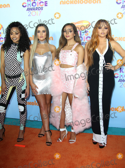 Photo - 11 March 2017 -  Los Angeles, California - Leigh-Anne Pinnock, Perrie Edwards, Jade Thirlwall, Jesy Nelson, Of singing group Little Mix. Nickelodeon's Kids' Choice Awards 2017 held at USC Galen Center. Photo Credit: Faye Sadou/AdMedia