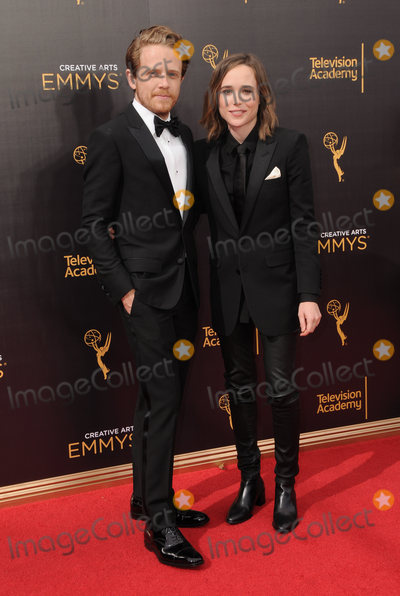 Ellen Page Photo - 11 September 2016 - Los Angeles, California. Ian Daniel, Ellen Page. 2016 Creative Arts Emmy Awards - Day 2 held at Microsoft Theater. Photo Credit: Birdie Thompson/AdMedia