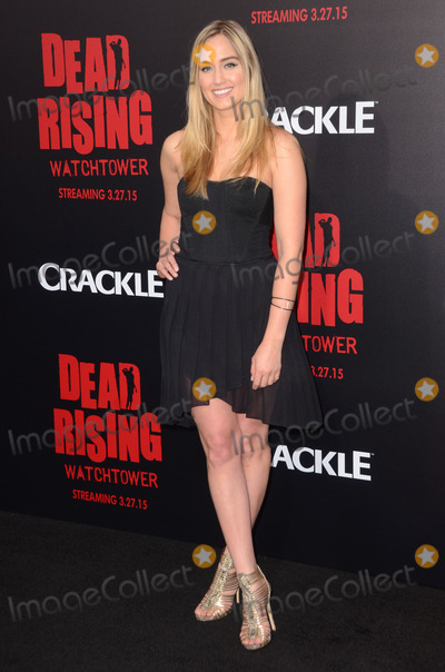 "Naomi Kyle, Kim Novak Photo - 11 March 2015 - Los Angeles, California - Naomi Kyle.  Arrivals for Crackle's world premiere original feature film ""Dead Rising: Watchtower"" held at the Kim Novak Theater at Sony Pictures Studios. Photo Credit: Birdie Thompson/AdMedia"