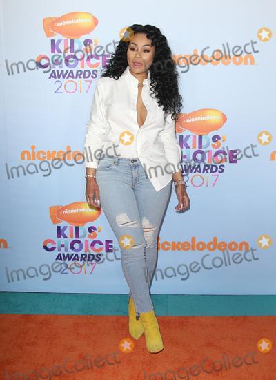 Blac Chyna Photo - 11 March 2017 -  Los Angeles, California - Blac Chyna. Nickelodeon's Kids' Choice Awards 2017 held at USC Galen Center. Photo Credit: Faye Sadou/AdMedia