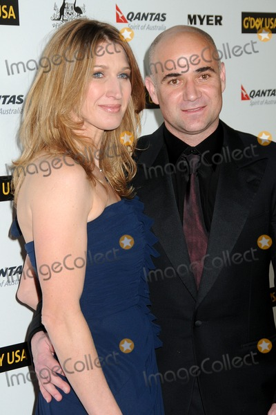 Andre Agassi, Steffi Graf Photo - 22 January 2011 - Hollywood, California - Steffi Graf and Andre Agassi. 2011 G'Day USA Los Angeles Black Tie Gala held at the Hollywood Palladium. Photo: Byron Purvis/AdMedia