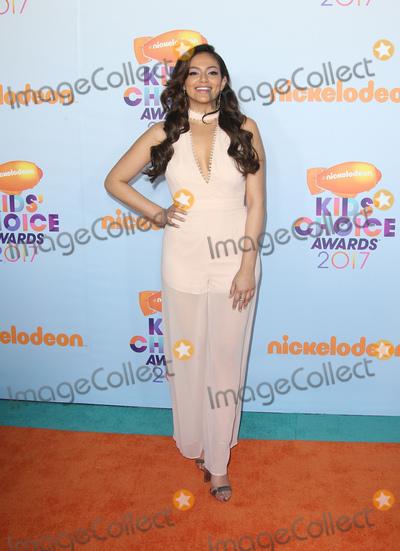 Bethany Mota Photo - 11 March 2017 -  Los Angeles, California - Bethany Mota. Nickelodeon's Kids' Choice Awards 2017 held at USC Galen Center. Photo Credit: Faye Sadou/AdMedia