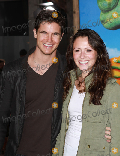 "Italia Ricci, Robbie Amell, Amel, Robbie Amel Photo - 14 February 2011 - Westwood, California - Robbie Amell and Italia Ricci. ""Rango"" Los Angeles Premiere held At The Regency Village Theatre. Photo: Kevan Brooks/AdMedia"