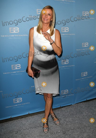 "Katherine Kelly Lang, Katherine Kelly Photo - 10 March 2012 - Los Angeles, California - Katherine Kelly Lang. 25th silver anniversary party for CBS' ""the bold and the beautiful"" - silver carpet Held At Hill Street. Photo Credit: Kevan Brooks/AdMedia"