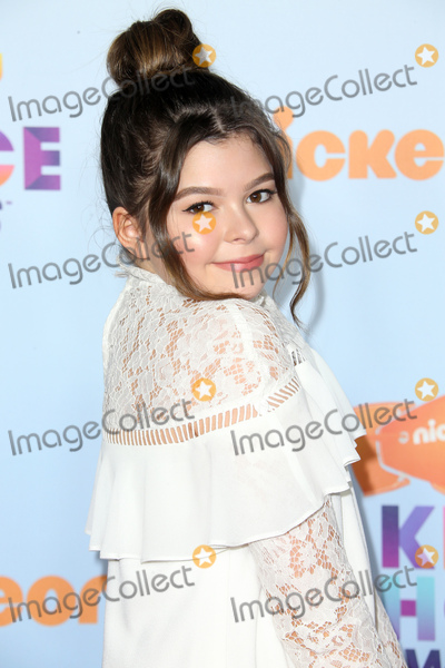 Addison Riecke Photo - 11 March 2017 -  Los Angeles, California - Addison Riecke. Nickelodeon's Kids' Choice Awards 2017 held at USC Galen Center. Photo Credit: Faye Sadou/AdMedia