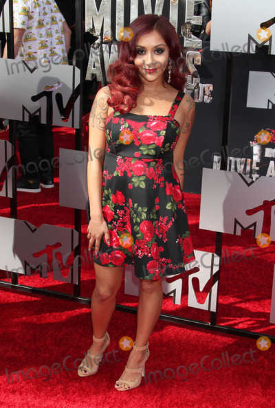"NICOLE, SNOOKI, ""Snooki"" Polizzi, Snooki, Nicole Snooki Polizzi, Nicole Polizzi, Nicole 'Snooki' Polizzi, Nicole ""Snooki"" Polizzi Photo - 13 April 2014 - Los Angeles, California - Nicole Polizzi. 2014 MTV Movie Awards held at Nokia Theatre L.A. Live. Photo Credit: Russ Elliot/AdMedia"