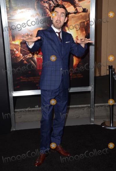 "Zach Lipvsky, Kim Novak Photo - 11 March 2015 - Los Angeles, California - Zach Lipvsky.  Arrivals for Crackle's world premiere original feature film ""Dead Rising: Watchtower"" held at the Kim Novak Theater at Sony Pictures Studios. Photo Credit: Birdie Thompson/AdMedia"