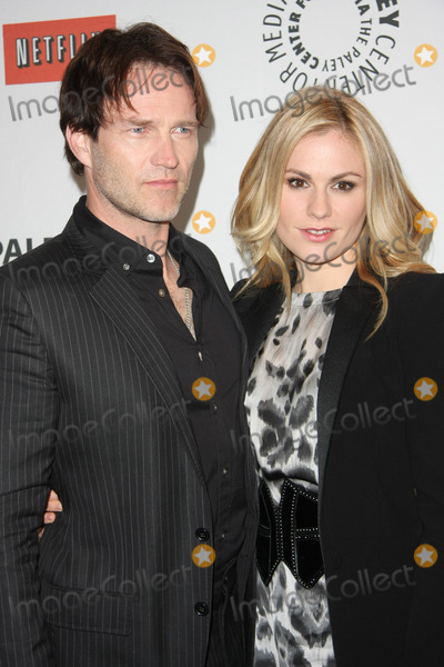 "Anna Paquin, Stephen Moyer, Anna Paquin-, Stephen Moyer- Photo - 05 March 2011 - Beverly Hills, California -  Stephen Moyer, Anna Paquin. ""True Blood"" at PaleyFest 2011  Held at The Saban Theater. Photo: Tommaso Boddi/AdMedia"