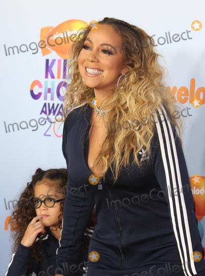Photo - 11 March 2017 -  Los Angeles, California - Mariah Carey, Moroccan Scott Cannon. Nickelodeon's Kids' Choice Awards 2017 held at USC Galen Center. Photo Credit: Faye Sadou/AdMedia