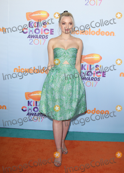 Dove Cameron, Doves Photo - 11 March 2017 -  Los Angeles, California - Dove Cameron. Nickelodeon's Kids' Choice Awards 2017 held at USC Galen Center. Photo Credit: Faye Sadou/AdMedia