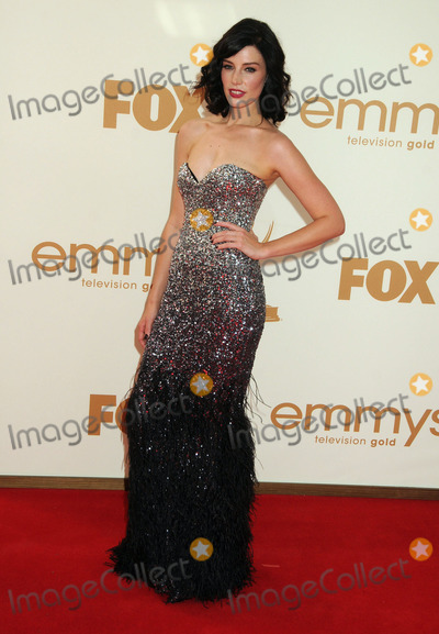 Jessica Pare Photo - 18 September 2011 - Los Angeles, California - Jessica Pare. 63rd Primetime Emmy Awards held at Nokia Theatre L.A. Live. Photo Credit: Byron Purvis/AdMedia