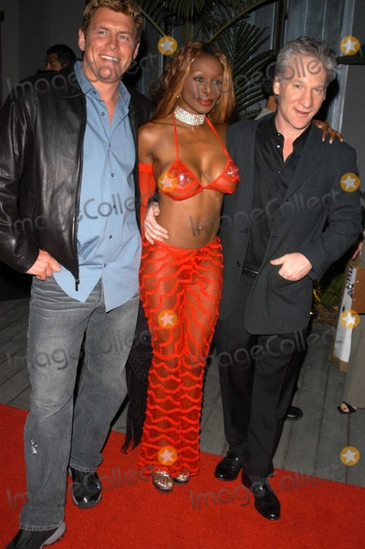 Chris Breed, Coco Johnson, Bill Maher, Coco Photo - Chris Breed, Coco Johnson and Bill Maher at the 3rd Annual Angels on the Fairway Celebrity Golf Tournament Tee Off Party, White Lotus, Hollywood, CA 06-12-03