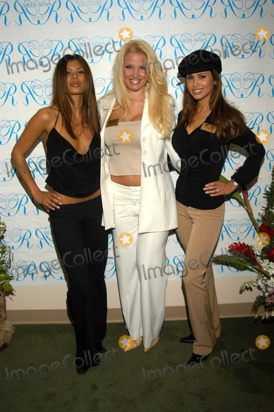 Tina Jordan, Jennifer Walcott, Michelle Rogers Photo - Michele Rogers, Tina Jordan, and  Jennifer Walcott at the MediSpa Grand Opening, Encino, CA, 04-14-03