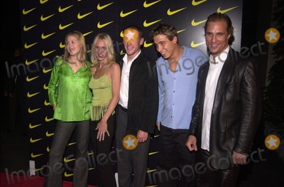 Kelly Rutherford, Lance Armstrong, Erik Palladino, Matthew Mcconaughey Photo -  Kelly Rutherford, Kristen & Lance Armstrong, Erik Palladino and Matthew McConaughey at a party honoring two-time Tour de France winner Lance Armstrong in Beverly Hills. 07-27-00
