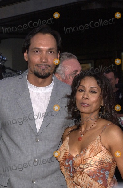 "Jimmy Smits, Wanda De Jesus, Wanda DeJesus Photo - Jimmy Smits and date Wanda De Jesus at the premiere of Warner Brothers ""Blood Work"" at Steven J. Ross Theter, Warner Brothers Studios, Burbank, CA 08-06-02"