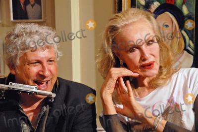 Julie Newmar Photo - Smokey Miles and Julie Newmar