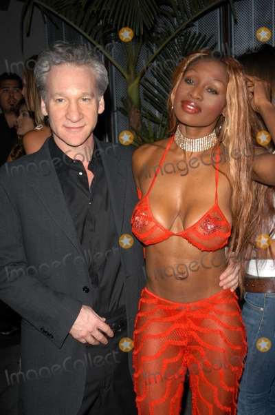 Bill Maher, Coco Johnson, Coco Photo - Bill Maher and Coco Johnson at the 3rd Annual Angels on the Fairway Celebrity Golf Tournament Tee Off Party, White Lotus, Hollywood, CA 06-12-03