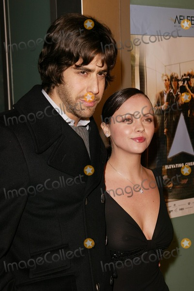 "Adam Goldberg, Christina Ricci Photo - Adam Goldberg and Christina Ricci at the premiere of ""Monster"" as part of the AFI Fest, Cinerama Dome, Hollywood, CA 11-16-03"