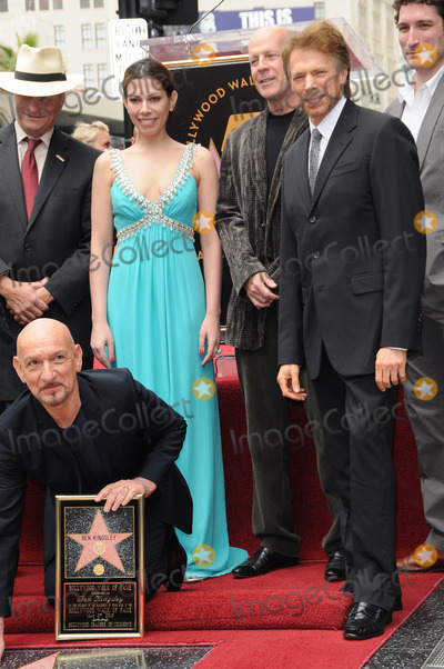 Ben Kingsley, Bruce Willis, Jerry Bruckheimer, Daniela Lavender Photo - Sir Ben Kingsley, Daniela Lavender, Bruce Willis, Jerry Bruckheimer
