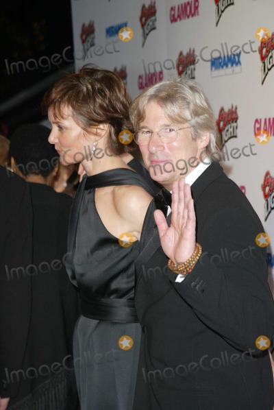 "Richard Gere, Carey Lowell Photo - Richard Gere and wife Carey Lowell at the ""Miramax Golden Globes After Party"" in the Beverly Hilton Hotel, Beverly Hills, CA. 01-25-04"