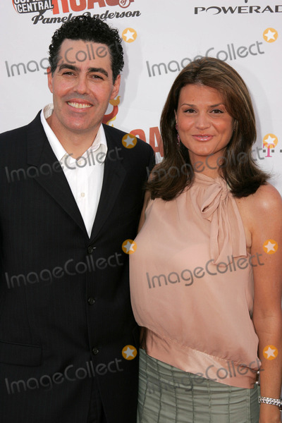 Adam Carolla, Pamela Anderson Photo - Adam Carolla and wife Lynette