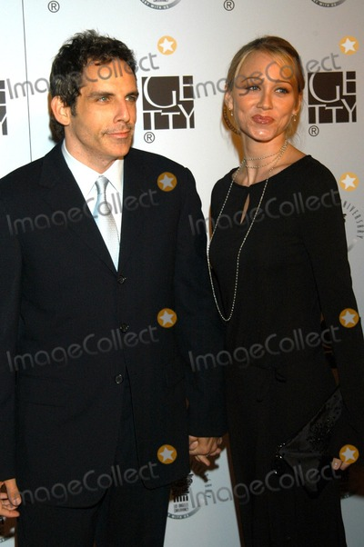 Ben Stiller, Christine Taylor, Union Station Photo - Ben Stiller and Christine Taylor at Los Angeles Conservancy's 25th Anniversary Gala, Union Station, Los Angeles, Calif., 10-11-03