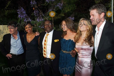 Brooke Mueller, Charlie Sheen, Eric Dane, Randy Jackson, Rebecca Gayheart, Sharon Leal, Susan Harris Photo - Charlie Sheen, Sharon Leal, Randy Jackson, Rebecca Gayheart, Brooke Mueller and Eric Dane