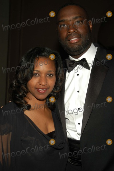 Antwone Fisher Photo - Antwone Fisher and wife at the 2003 Tree of Life ceremony, Regent Beverly Wilshire Hotel, Beverly Hills, CA 03-22-03