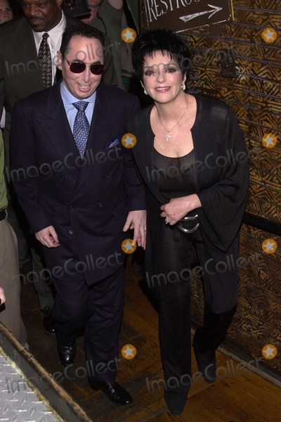 Liza Minnelli, David Gest Photo - David Guest and Liza Minnelli at the VH1 press conference to announce the weekly musical reality series starring Liza Minnelli and David Gest, House Of Blues, West Hollywood, CA 07-25-02