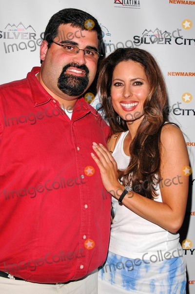 "Kerri Kasem Photo - Kerri Kasem and cousin Paul at the Los Angeles Premiere of ""Silver City"" in the ArcLight Cinerama Dome, Hollywood, CA. 09-14-04"