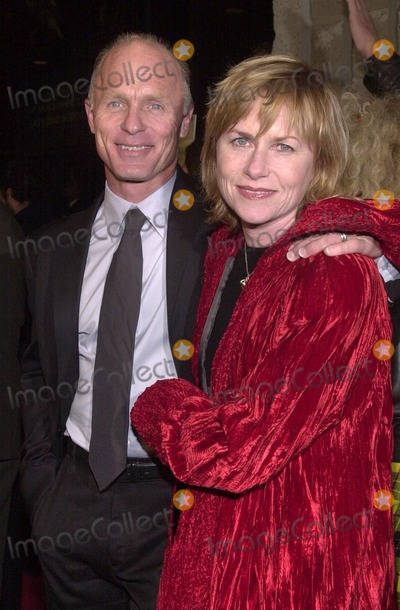 "Ed Harris, Amy Madigan, Samuel Goldwyn Photo -  Ed Harris and Amy Madigan at the premiere of the Universal/Dreamworks/Imageine film ""A Beautiful Mind"" at the Academy of Motion Picture Arts and Sciences Samuel Goldwyn Theater, Beverly Hills, 12-13-01"