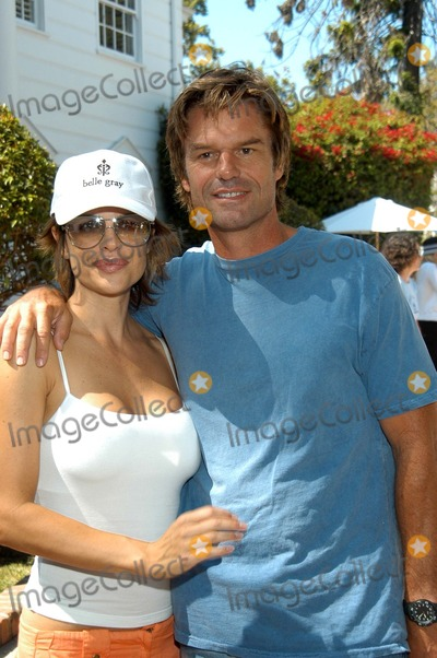 "Lisa Rinna, Harry Hamlin, Bel-Air, Prince Photo - Lisa Rinna and Harry Hamlin at the ""W"" Guess Hollywood Yard Sale held at the ""Fresh Prince of Bel Air"" estate, Brentwood, CA 09-20-03"