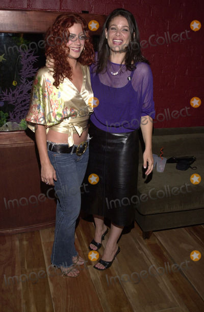 Nikka Costa Photo -  Nikka Costa  and Meredith Salinger at the GAP Party to celebrate their new marketing campaign, Quixote Studios, Hollywood,  08-23-01